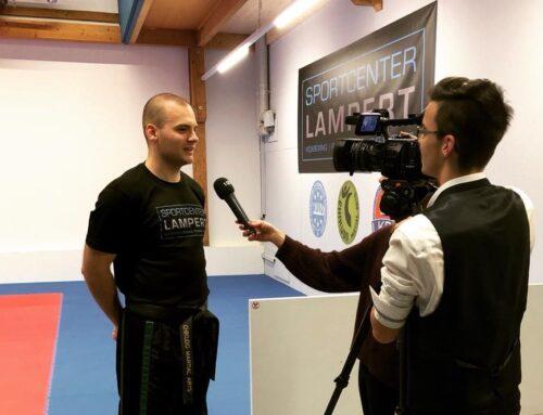 Fernsehbeitrag über das Kickboxtraining der Kinder