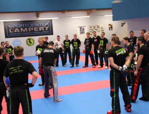 Lehrreiches Kickboxseminar im Sportcenter Lampert