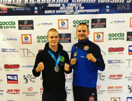 Bronze für Walser an der Kickbox-Weltmeisterschaft 2018