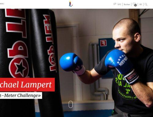 «2-Meter Challenge» mit Michael Lampert