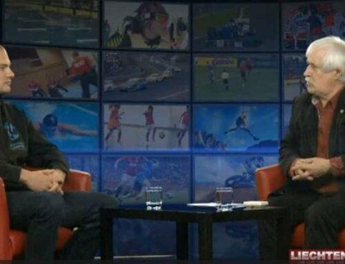 Michael Lampert zu Gast im Sporttalk auf 1 FL TV