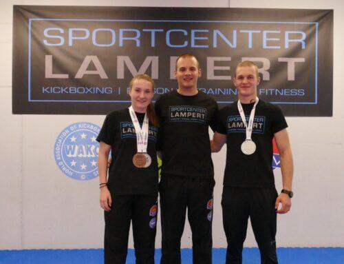 Spitzensport: Zwei Vize-Europameister im Kickboxen