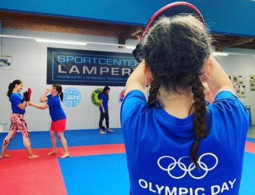 Kickboxen am Olympic Day 2021